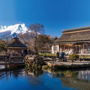 富士山五合目‧忍野八海